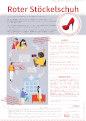 Poster Roter Stöckelschuh